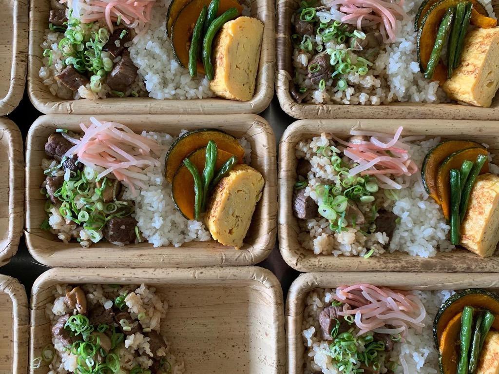 ◎ショップオープン2周年記念 伊賀牛と伊賀米のお弁当